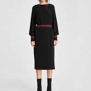 Zara Midi Dress NWT